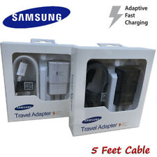 Fast Rapid Wall Charger Adaptive For Samsung Galaxy Note 4 5 S6 S7 Edge New OEM