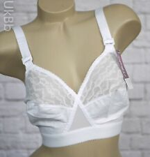 33232d5d8a Playtex Classic Support D DD Bra White Cross Your Heart Non Wired PO165 Lace  NEW