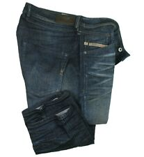 DIESEL Herren Jeans | Belther ( Slim-Tapered ) W36 / L32 dirty treated STRETCH
