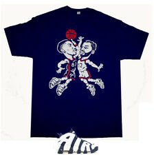 Navy Blue Red Scottie Pippen 1996 shirt basketballl  Air More Uptempo Olympic