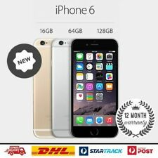 Factory Sealed & Unlocked APPLE iPhone 6 Grey Gold Silver 16 64 128GB Space