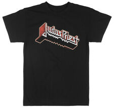JUDAS PRIEST METAL BAND T-SHIRT MENS 80s ROCK MUSIC TEE NWT BLACK