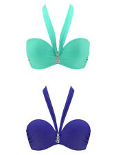 Passionata by Chantelle Love Sexy Strapless Halter Bikini Top Underwired Padded