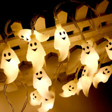 Halloween String Light Ghost 20LED 2.5M Night Party Bar Festival Holiday Decor