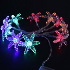 Morning Glory Flower String Light Wedding Party Holiday Indoor Decor 20LED 2.5M