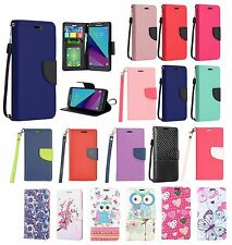 SAMSUNG GALAXY NOTE 8 PU LEATHER WALLET POUCH CASE FOLIO STAND COVER+STYLUS