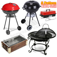 Stainless Steel BBQ Charcoal Grill Outdoor Camping Portable Barbecue Cooking New