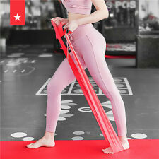 1.8m Elastic Yoga Pilates Rubber Stretch Resistance Band Exercises Fitness Bands