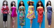 "1970s BARBIE 11"" mattel doll -- DRESS SKIRT SHOES STOCKINGS SUNGLASSES"