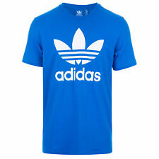Mens adidas Originals Original Trefoil T-Shirt In Bluebird