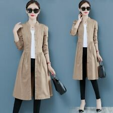 NEW Spring Autumn Fashion Trench Coat Women Long Windbreaker Plus size Thin Long