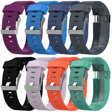 Silicone Band Rubber Wristband Bracelet For Fitbit Charge HR+Screw driver L5
