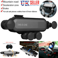 Universal Auto-Grip Car Cell Phone Mount Holder Gravity Stand Air Vent Gravity