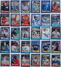 1986 Fleer Baseball Cards Complete Your Set Pick From List 1-220