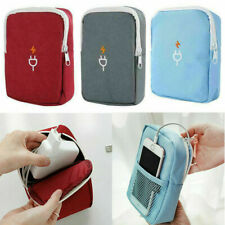 Waterproof Travel Electronic Accessories Storage Bag USB Cable Charger Organizer