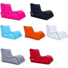 Inflatable Lounger Air Sleeping Bag Lazy Chair Air Bed Beach Sofa Bed
