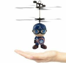 Minion Fly Flashing helicopter Hand Control RC Toy induction mini Helicopter