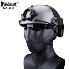 Piloteer Maske Airsoft Mesh Face Ma sk Shields for Hunting Military Party