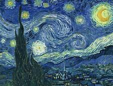 Starry Night by Vincent van Gogh Jigsaw Puzzle, 500 or 1000 Pieces