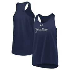 New York Yankees Under Armour Girls Youth Big Time Fan Performance Tank Top -