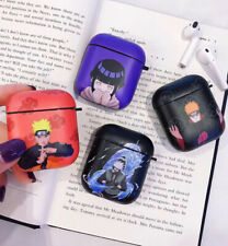 Anime Naruto Wireless Bluetooth Earphone Case charging box For Apple Airpods