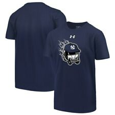 New York Yankees Under Armour Youth Wild Thing Performance T-Shirt - Navy