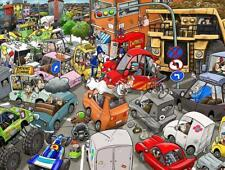 Chaos on the Road 1000 or 500 Piece Jigsaw Puzzle