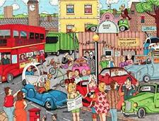 A Question of Cars - Ambler Cartoon Collection - 1000 or 500 piece jigsaw puzzle