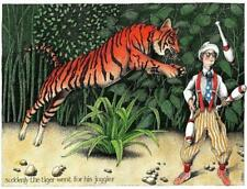 Suddenly the Tiger went for his Juggler - Simon Drew - 1000 or 500 piece Jigsaw