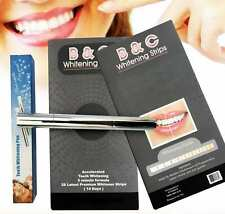 Professional Teeth Whitening Strips Kit Tooth Pen White Bleaching Dental Gel NEW