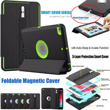 Smart Case Cover Stand Magnetic Slim PU Leather For Apple iPad Mini 4 5th Gen