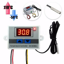 DC12 / AC220V Digital LED Temperature Controller 10A Thermostat Control Switch