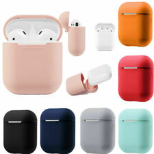 For Apple AirPods Case Protect Silicone Cover Skin Earphone Charger Cases RX