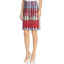 Nic + Zoe Womens Printed Knee-Length Office Wear Pencil Skirt BHFO 8868