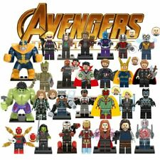 Avengers Minifigure Building  Blocks Fits Lego toys Iron Man Captain Marvel
