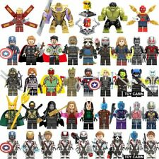 42Pcs/lot Super Heroes lEGOED Marvel avengers Endgame Iron Man Thanos Thor