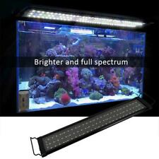 78 129 156 LED Aquarium Light Full Spectrum Freshwater Fish Tank Marine Plant