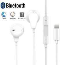 100% New Wired Bluetooth Earphones Headphones For Iphone X/XS/8/7/XR/7+