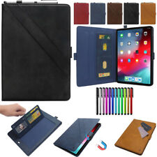 For Apple iPad Mini Pro Air 7.9 9.7 10.5 11 Leather Case Sleep Smart Cover Stand