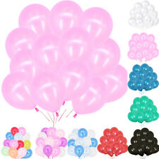 "100pcs 10"" HELIUM Pear Latex BALLOONS Party Birthday Wedding Christening"