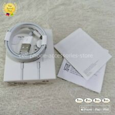 Genuine iPhone Charger OEM Original Apple Lightning USB Cable XS Max 7 Plus 8 6.