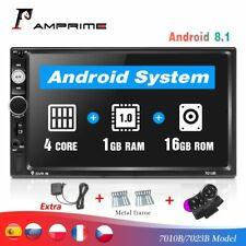 """2 Din 7"""" Car Multimedia Player Universal Bluetooth Touch Screen MP5 Player"""