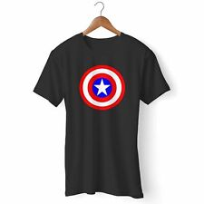 CAPTAIN AMERICA AVENGERS WOMAN'S AND MAN'S T-SHIRT USA SIZE S-3XL