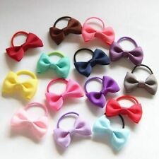 Hair Band 10Pcs Accessory Bowknot Tie For Girl Small Ribbon Bow With Elastic Kid
