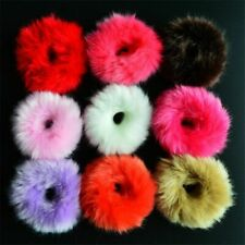 Hair Band Elastic Tie Accessory 1pc Headband For Girl Artificial Fur Rubber Rope