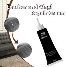 Black Leather and Vinyl-Repair Kit - Furniture/Couch/Car Seats/Sofa/Jacket 25g