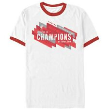 Liverpool 2019 UEFA Champions League Champions of Europe Ringer T-Shirt - White