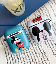 Mickey Wireless Bluetooth Earphone Case Charging Box For Apple Airpods