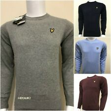 LYLE AND SCOTT LONG SLEEVE CREW NECK JUMPER  FOR MEN - WINTER OFFER