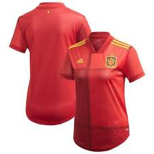 Spain National Team adidas Women's 2020 Home Replica Jersey - Red